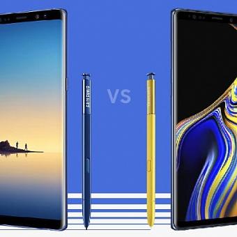Чем Galaxy Note 9 отличается от прошлогодней модели?