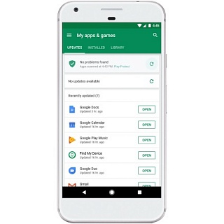 Google Play Protect — новая система защиты Android