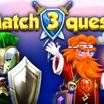 Match 3 Quest — головоломка с элементами RPG