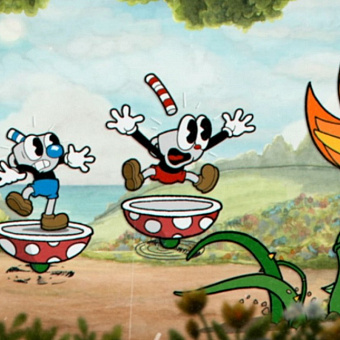 Cuphead вышла на PlayStation 4
